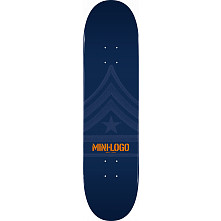 Mini Logo Quartermaster Deck 188 Navy - 7.88 x 31.67