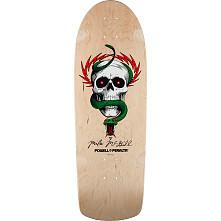 Powell Peralta McGill OG Skull and Snake Skateboard Blem Deck Natural - 10 x 30.125
