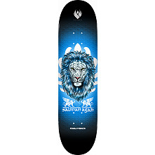 Powell Peralta Pro Flight® Salman Agah Lion 3 Skateboard Deck - Shape 242 - 8 x 31.45