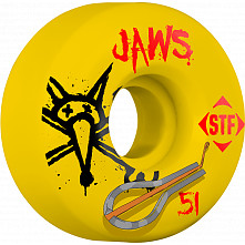 BONESWHEELS STF Pro Homoki Harp 51mm Yellow Wheel 4pk