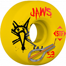 BONESWHEELS STF Pro Homoki Harp 53mm Yellow Wheel 4pk
