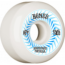 BONES WHEELS SPF Skateboard Wheels Spines 58mm P5 Sidecut 84B 4pk White