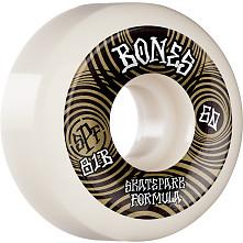 BONES WHEELS SPF Skateboard Wheels Ripples 60mm P5 Sidecut 81B 4pk White