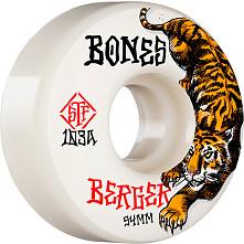 BONES WHEELS PRO STF Skateboard Wheels Berger The Hunter 54mm V3 Slims 103A 4pk