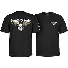 BONES BRIGADE: An Autobiography T-Shirt - Black