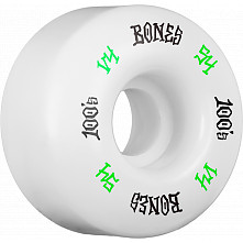 BONES WHEELS 100's #12 OG Formula 54x34 V4 Skateboard Wheels 100A 4pk