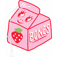 BONES WHEELS Lizzie Armanto Air Freshener Pink Strawberry