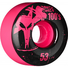 BONES WHEELS 100 Slims 53mm - Pink (4 pack)