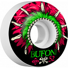 BONES WHEELS STF Pro Bufoni Head Dress 52mm 4pk