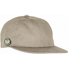 Mini Logo Dad Cap w/ Chevron Pin Pale Khaki