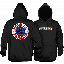 Powell Peralta Supreme 2 Hooded Sweatshirt Black