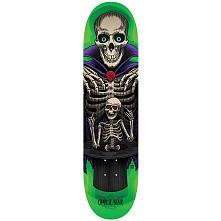 Powell Peralta Pro Charlie Blair Magician Blem Skateboard Deck Green - Shape 242 - 8 x 31.45