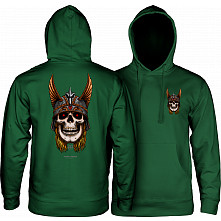 Powell Peralta Anderson Sweatshirt Hooded Mid Weight Alpine Green