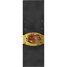 Powell Peralta Grip Tape Sheet  10.5 x 33 Oval dragon (Black)