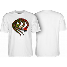 Powell Peralta Snakes T-shirt White