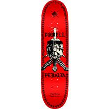 Powell Peralta Skull And Sword Chainz Blem Skateboard Deck Red - 8 x 31.45