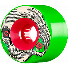 Powell Peralta Soft Dlide Kevin Reimer 72mm 4pk Green Wheels