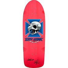Bones Brigade Hawk Blem Skateboard Deck Pink - Signed by George and Stacy