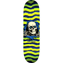 Powell Peralta Ripper Skateboard Green - 8 x 32.125