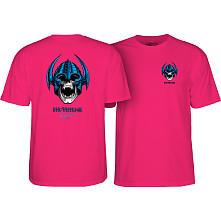 Powell Peralta Welinder Nordic Skull T-shirt - Hot Pink