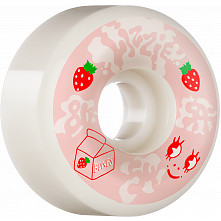 BONES WHEELS PRO SPF Skateboard Wheels Lizzie Armanto Spilt Milk 54 P6 Wide-Cuts 81B 4pk