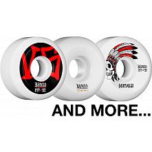BLEM BONES WHEELS STF V5 53mm White 4pk