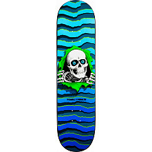 Powell Peralta New School Ripper Skateboard Deck Blue - 8.25 x 32.5