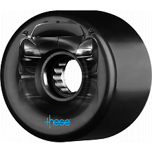 these wheels ATF supercar 327 59mm 82a Black (4pk)