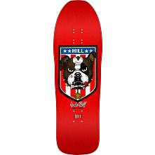 Powell Peralta Frankie Hill Bulldog Skateboard Blem Deck Red - 10 x 31.5