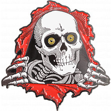 Powell Peralta Ripper Lapel Pin Red