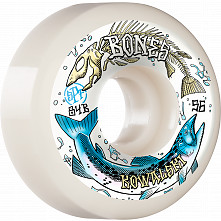 BONES WHEELS PRO SPF Skateboard Wheels Kowalski Salmon Spawn 56mm P5 Sidecut 84B 4pk