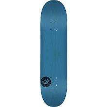 "MINI LOGO CHEVRON STAMP ""12"" SKATEBOARD DECK 250 BLUE - 8.75 X 33"