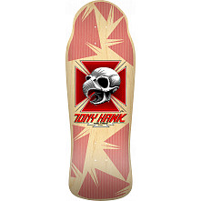 Bones Brigade® Tony Hawk 11th Series Reissue Skateboard Deck Natural - 10.41 x 30.28