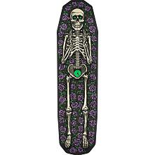 Powell Peralta FS Casket 3 Skateboard Deck Purple Skateboard Deck - 8.75 x 32
