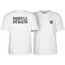 Powell Peralta PPP Burst White T-shirt