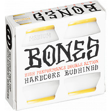BONES WHEELS Bushing Medium White Pack