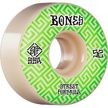 BONES WHEELS STF Skateboard Wheels Patterns 52 V2 Locks 99A 4pk
