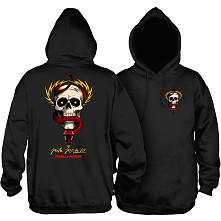 Powell Peralta McGill Skull and Snake Hooded Sweatshirt Black
