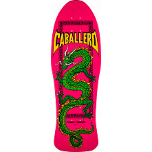 Powell Peralta Caballero Chinese Dragon Skateboard Blem Deck Pink - 10 x 30