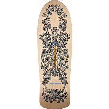 Bones Brigade® Guerrero Iron Gate Skateboard Deck Natural - 9.85 x 31.35