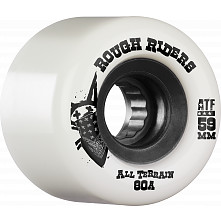BONES WHEELS Rough Riders 59mm White Wheel 4pk