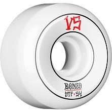 BONES WHEELS STF Annuals Skateboard Wheels Sidecuts 54mm 4pk White