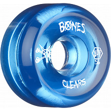 BONES WHEELS SPF Clear Blue 56mm 4pk