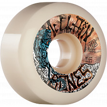 BONES WHEELS PRO STF Skateboard Wheels McClain Primal 56mm V6 Wide-Cut 99a 4pk