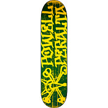 Powell Peralta Vato Rat Skateboard Deck Green - 7.88 x 31.67