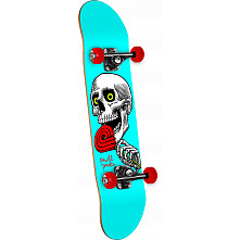 Powell Peralta Lolly Pop Complete Skateboard Blue - 7.625 x 31.625