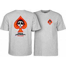 Powell Peralta Steadham T-shirt Grey