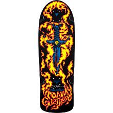 Bones Brigade® Guerrero Blem Skateboard Deck Black - Signed by Tommy