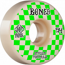 BONES WHEELS STF Skateboard Wheels Patterns 54 V3 Slims 99A 4pk