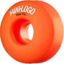 Mini Logo Wheel C-cut 54mm 101A Orange 4pk